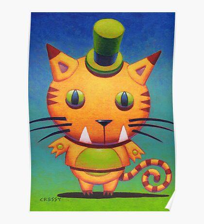 Kit Tee Kat Poster