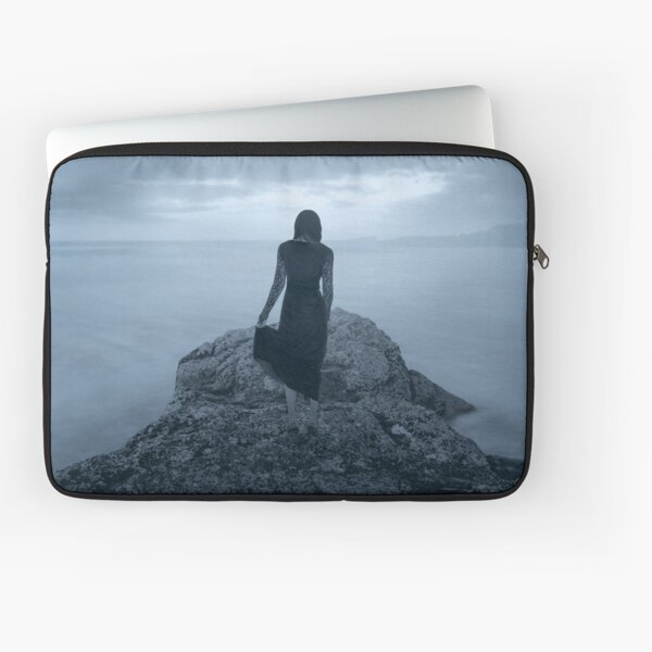 """Sleepwalking 3"" by Cat Burton Laptop Sleeve"