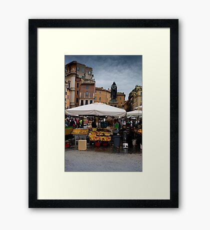 Campo Di Fiori Framed Print
