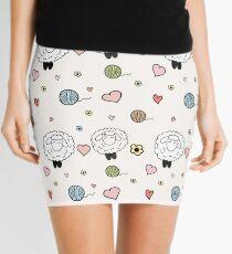 Sheep in love Mini Skirt
