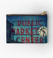 Pike Place Market Seattle Washington Studio Pouch