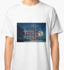 Pike Place Market Seattle Washington Classic T-Shirt