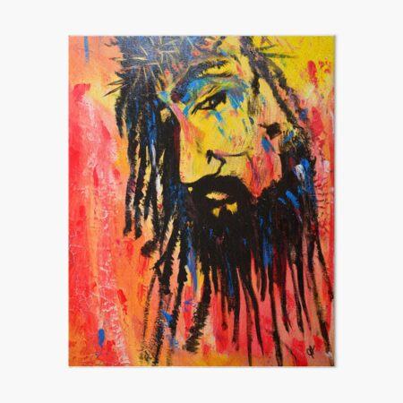 Pray Tears Art Board Print