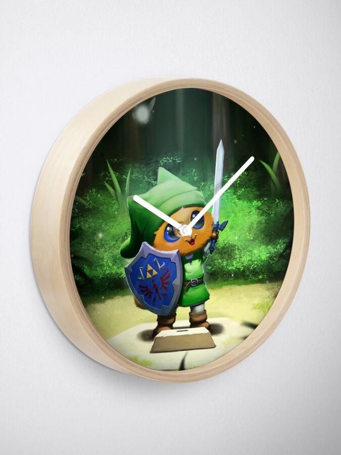 Horloge ''Mewster Sword': autre vue