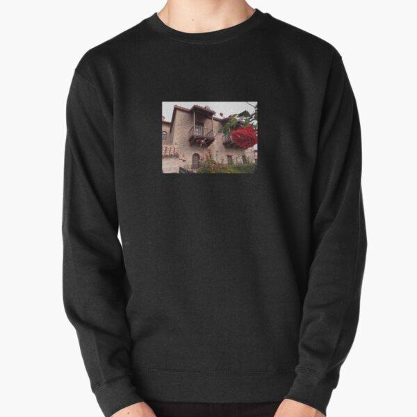 Monastery yard Pullover Sweatshirt