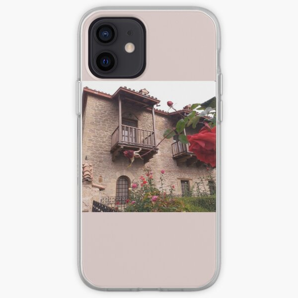 Monastery yard iPhone Soft Case