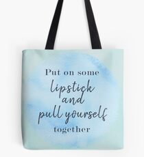 Elizabeth Taylor Famous Quote Tote Bag