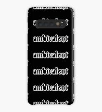 ambivalent [black and white] Case/Skin for Samsung Galaxy