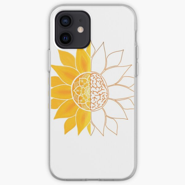 The Sun Will Rise and We Will Try Again - Sunshine Brain Mandala  iPhone Soft Case
