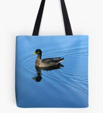 Blue Luxury Tote Bag
