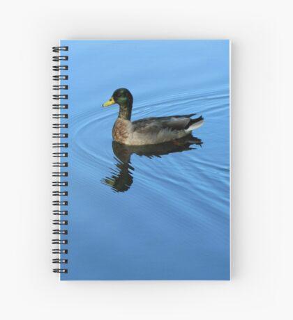 Blue Luxury Spiral Notebook