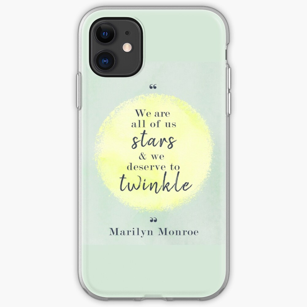 Marilyn Monroe Quote iPhone Case & Cover