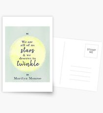 Marilyn Monroe Quote Postcards