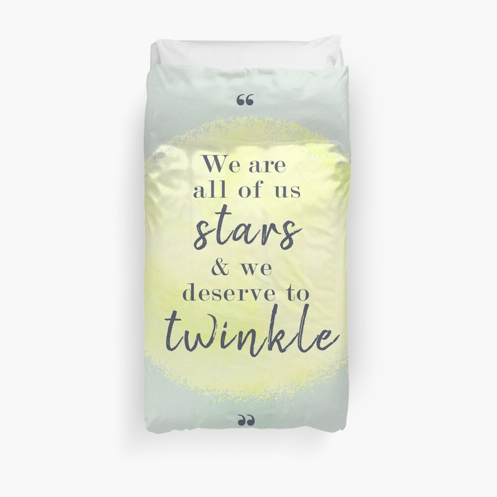 Marilyn Monroe Quote Duvet Cover