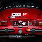 Alpine Renault A110 - Rear View by Stuart Row