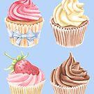 Cupcake-Muster von LCWaterworth