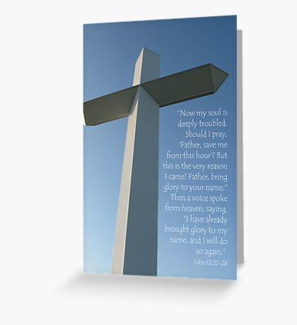 The Cross at the Crossroads (card) Greeting Card