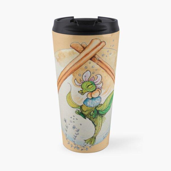 Sugar & Spice Blooming Tea Dragon Travel Mug