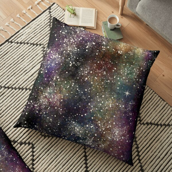 Space Nebula 1 Floor Pillow