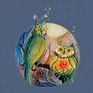 Blooming Tea... Owls? by GwenPhifer