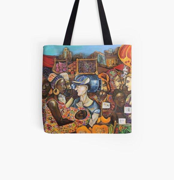 #VivereBallarò All Over Print Tote Bag