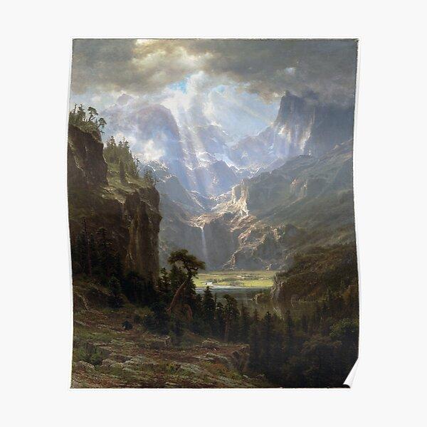 Albert Bierstadt Rocky Mountains, Lander's Peak Poster