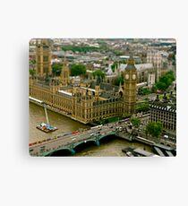 Toy London Canvas Print