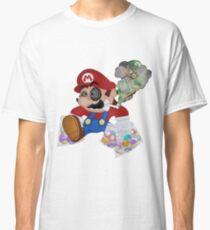 Mushed Mario Classic T-Shirt