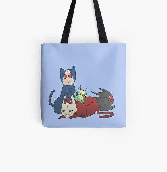 Nyamen Rider Blade All Over Print Tote Bag