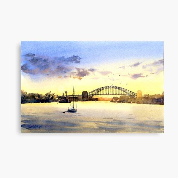 Sydney Harbour Sunset Metal Print