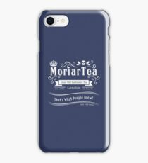 MoriarTea 2014 Edition (white) iPhone Case/Skin