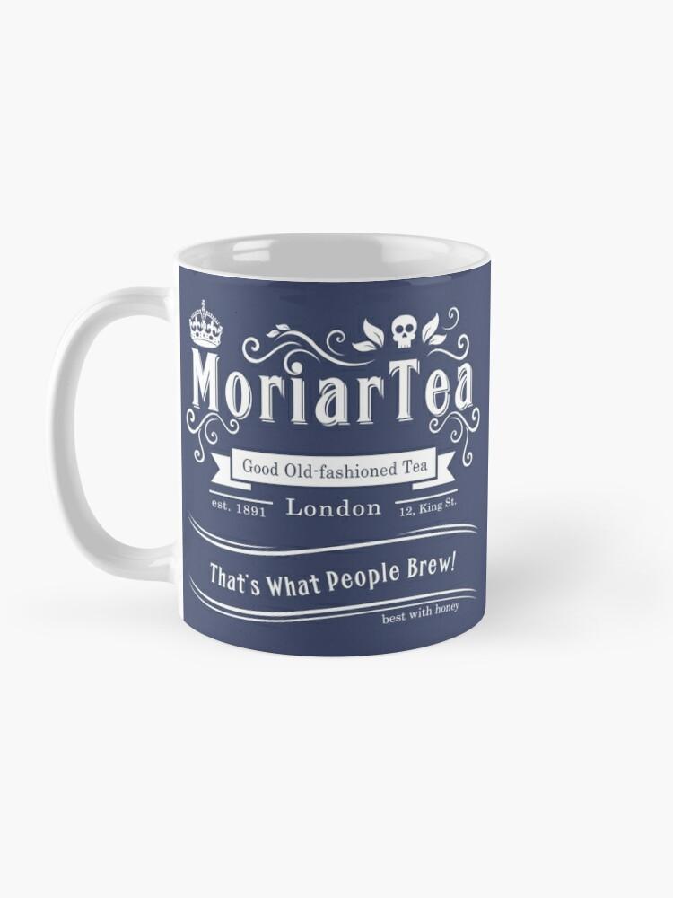 Alternate view of MoriarTea 2014 Edition (white) Mug