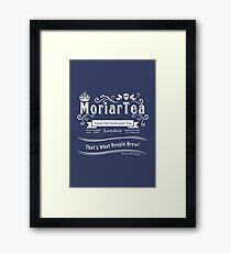 MoriarTea 2014 Edition (white) Framed Print