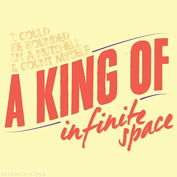 a king of infinite space by SavThompson