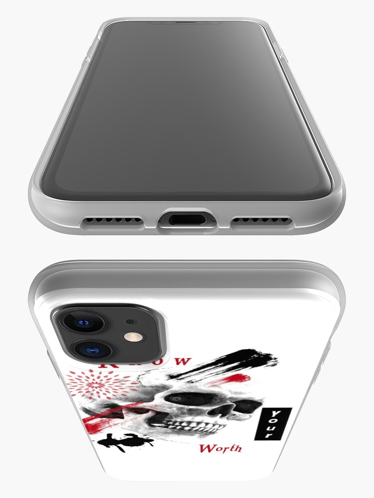 Alternate view of Know your worth! iPhone Case & Cover