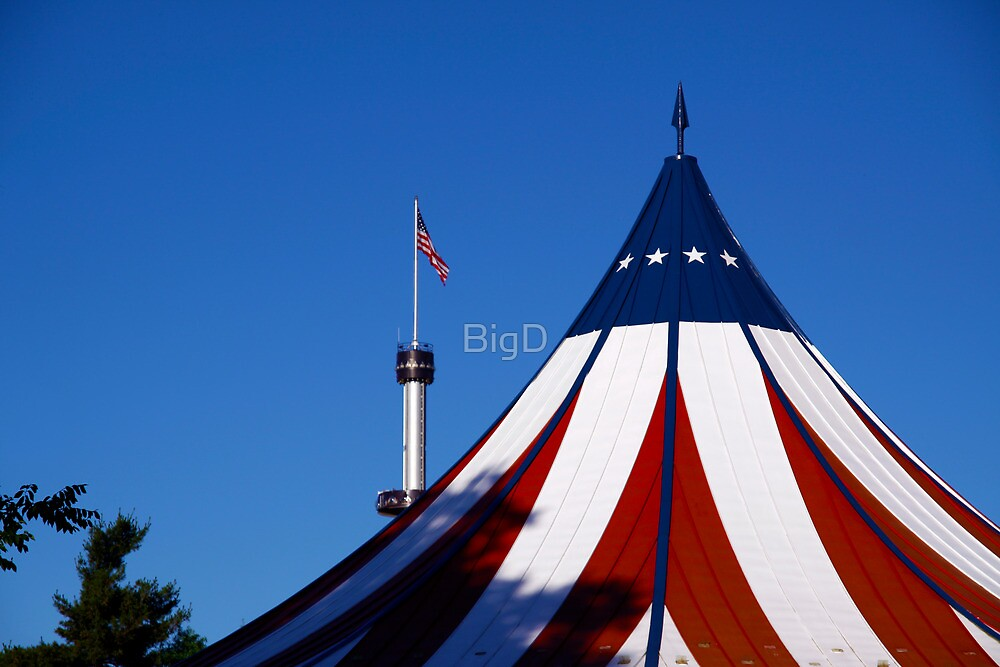 Red, White and Blue-Hershey Park, PA by BigD