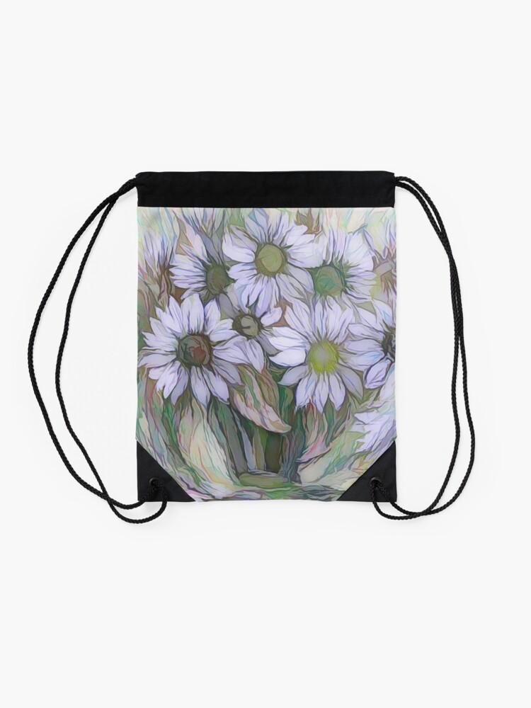Alternative Ansicht von Blumendekor von OLena Art Turnbeutel