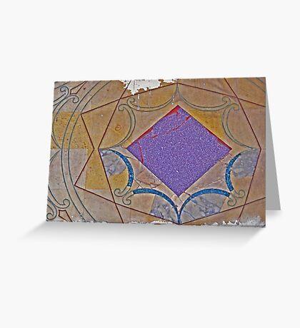 ROMAN TILE MOSAIC#2 Greeting Card