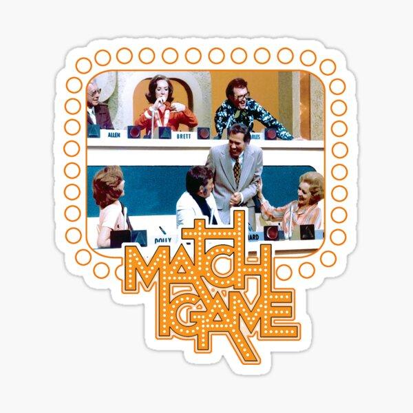 Match-Spiel Tribut Sticker