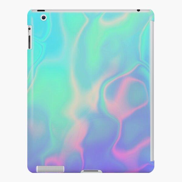 Rainbow Sea Holographic Iridescence iPad Snap Case