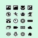 photography symbols by smagifts