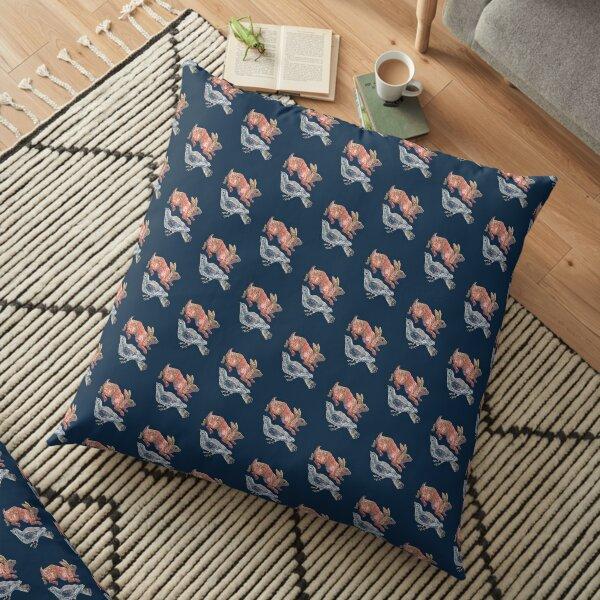 Night Hare Floor Pillow