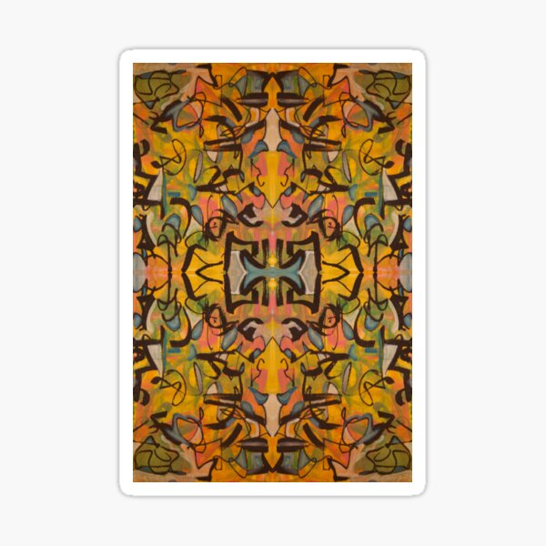Kaleidoscopic Jazz Sticker