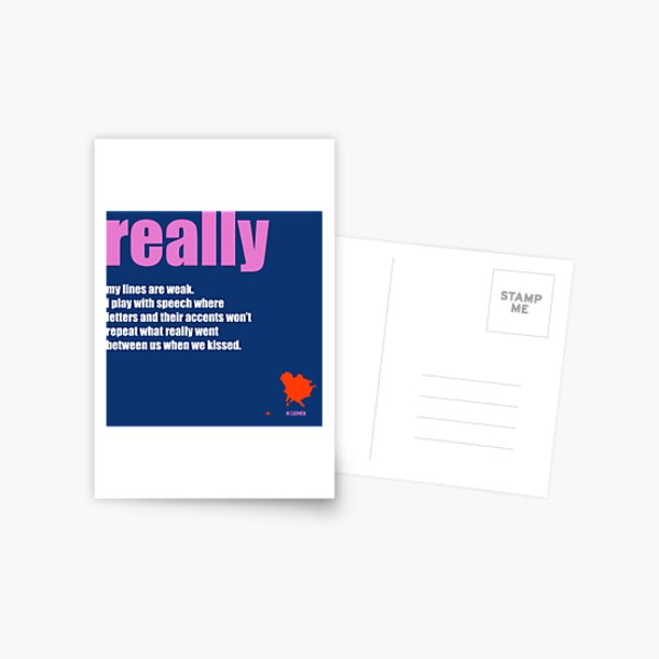 REALLY love tablet Postcard