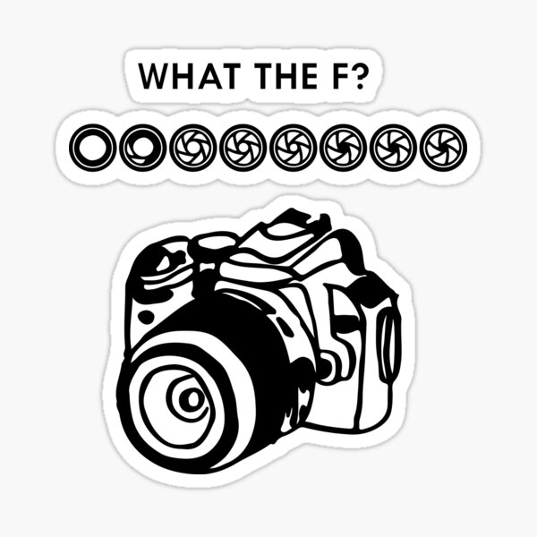 what the F? Sticker