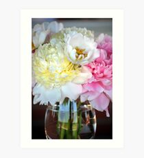 Floral Reflections Art Print