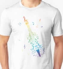 Violin with Notes 3 T-Shirt