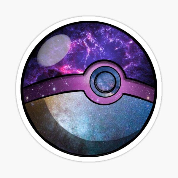 Galaxy Ball Sticker