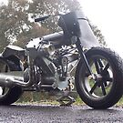 """""""Big Ned"""" The Ultimate Street Fighter, built by Mark Walker. Aust. by Antipodean Tynker"""