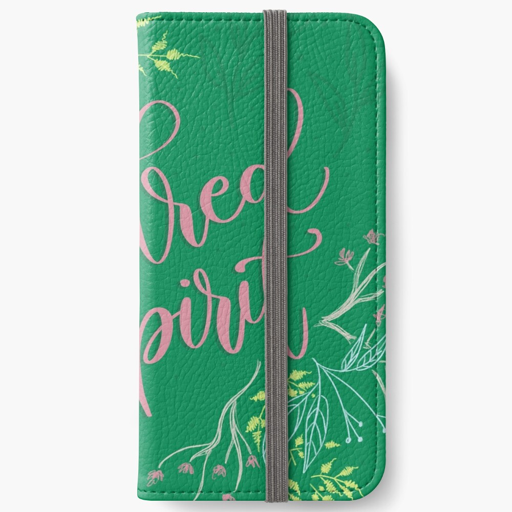 Kindred spirit - Anne of Green Gables iPhone Wallet